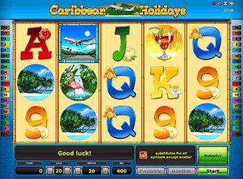 Онлайн слот Caribbean Holidays