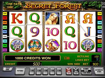 Онлайн слот Secret Forest