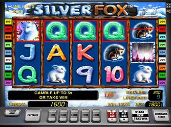 Онлайн слот Silver Fox