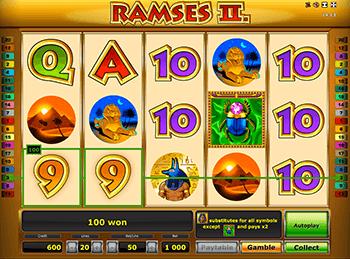 Онлайн слот Ramses II Deluxe