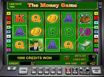 Онлайн слот The Money Game
