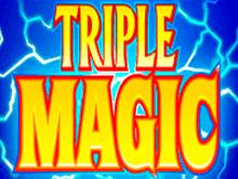 Играть на реальные деньги в интернет-автомат Triple Magic